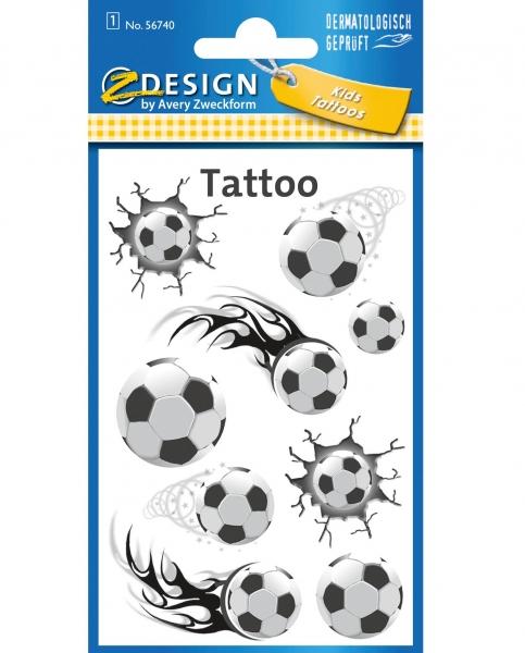 Tatuaże dla dzieci - piłka nożna (56740)
