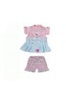 Ubranko dla lalki my little Baby born Dress Collection różowo-niebieskie