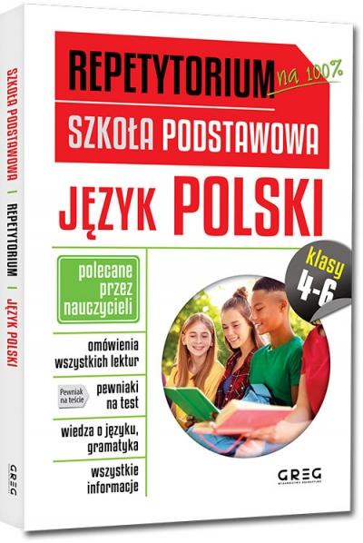 Repetytorium. Szkoła podstawowa 4-6. Język polski (RPP46)