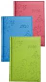Kalendarz 2020 książkowy - terminarz A5 Vivella Pastele produkt mix