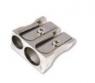 Temperówka zwykła Titanum srebrny