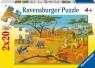 Puzzle 2X20 W dziczy (090402)