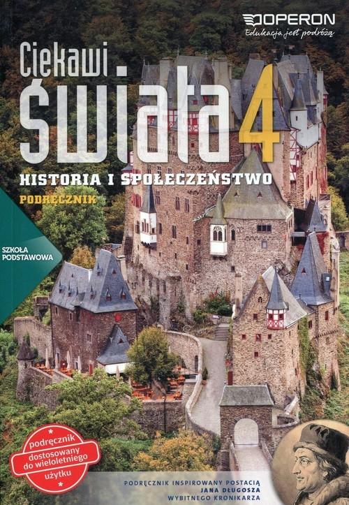 Ciekawi świata 4 Historia i społeczeństwo Podręcznik wieloletni Pacholska Maria, Zdziabek Wiesław