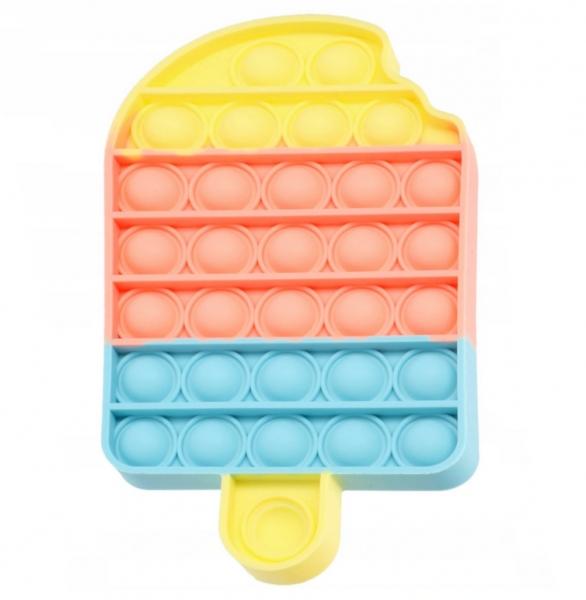 Plop Up! - zabawka sensoryczna, antystresowa, gniotek - Lód (621041)
