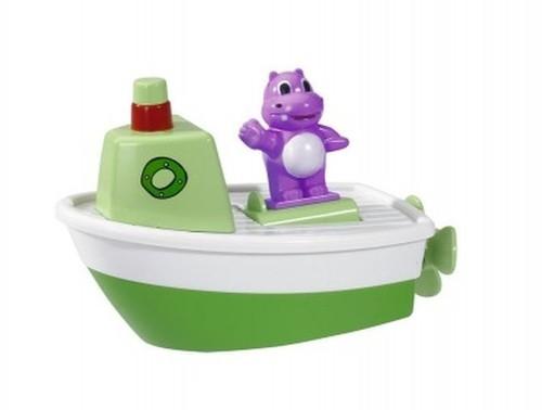 ABC Łódka ze zwierzątkiem zielona