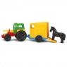 Traktor z przyczepą dla konia (35001)