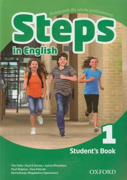 Steps In English 1 Student's Book / Exam Steps in English 1 Ćwiczenia Falla Tim, Davies Paul, Wheeldon Sylvia