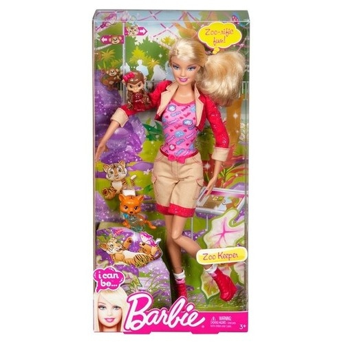 Barbie I can be Dozorczyni w Zoo