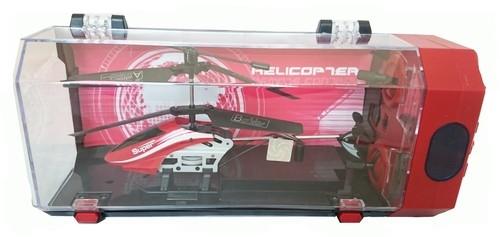 Helikopter zdalnie sterowany 3,5 kanałowy czerwony 18cm