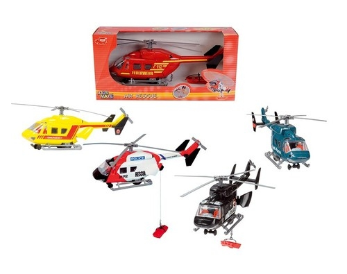 Helikopter ratunkowy czarny
