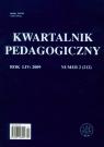 Kwartalnik pedagogiczny nr 2/2009