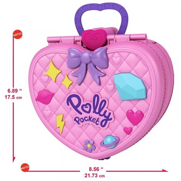 Polly Pocket: Park rozrywki - Plecak (GKL60)