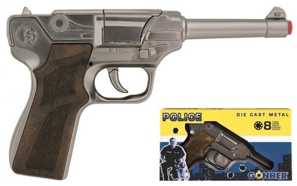 Pistolet policyjny GONHER 124/0 metalowy (155124/0)