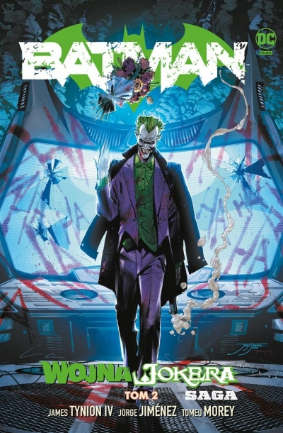 Batman T.2 Wojna Jokera James Tynion IV, Jorge Jimnez, Tomeu Morey, Tomas
