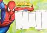 Plan lekcji z magnesem Spider Man