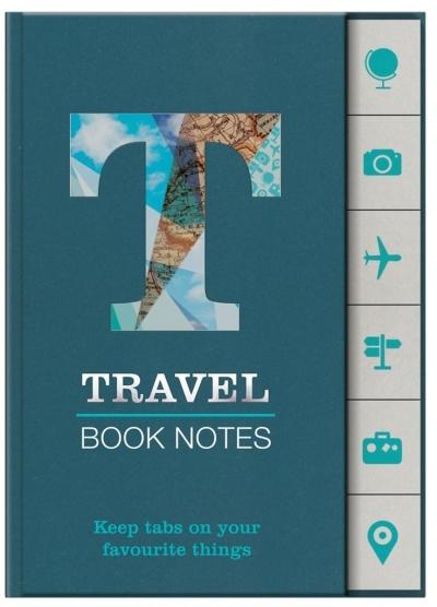 Book Notes - Travel - znaczniki podróże