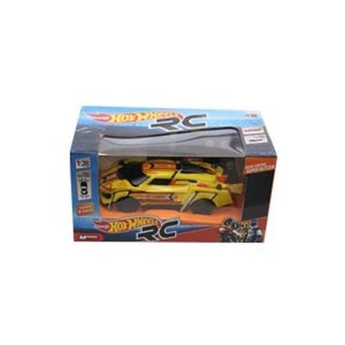 Hot Wheels Pojazd zdalnie sterowany 1:28 żółty