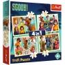 Puzzle 4w1: Scobby Doo i przyjaciele (34340)