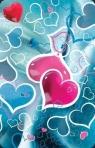 Mini kartka 3D Migoczące Serce