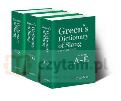 Green's Dictionary of Slang (3 vols set) Green, Jonathon