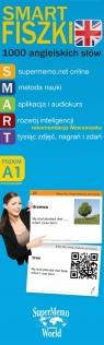 SmartFiszki 1000 angielskich słów A1 poziom podstawowy