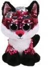 Maskotka Beanie Boos Flippables: Jewel - cekinowy lis 24 cm