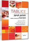 Tablice: język polski (literatura polska + wiedza o literaturze + wiedza o języku)