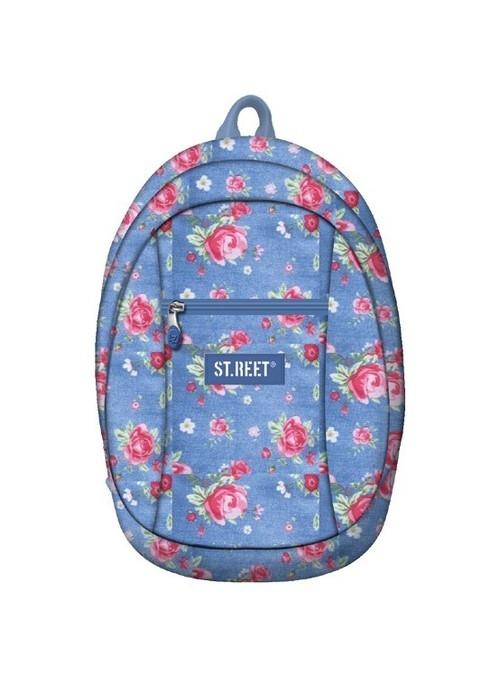 Plecak dziewczęcy 1-komorowy St.reet Garden (BP-09)