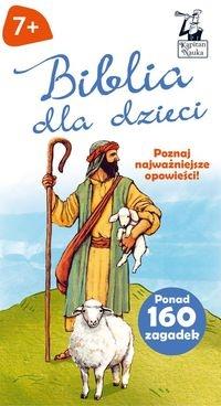 Kapitan Nauka. Biblia dla dzieci (Opowieści + zagadki) Czapczyk Paweł
