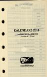 Wkład kalendarzowy A6 tyg. 2019