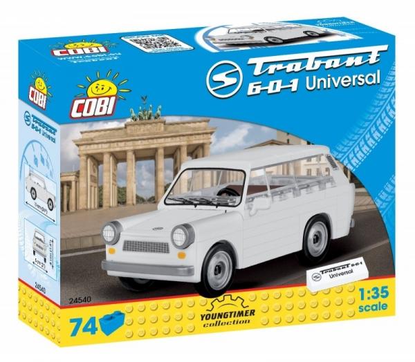 Klocki Youngtimer Collection - Trabant 601 Universal (24540) praca zbiorowa