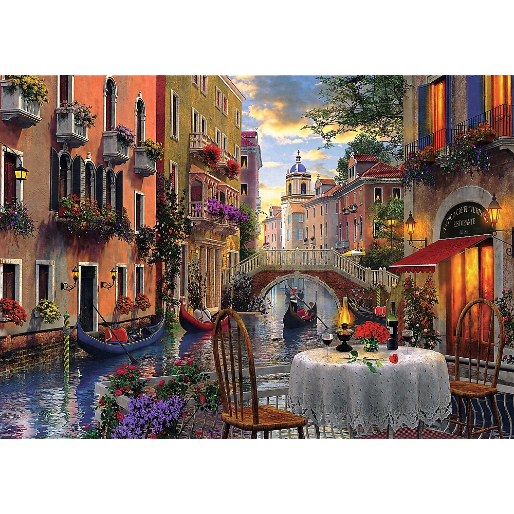 Puzzle 6000: Romantyczna kolacja (65003)