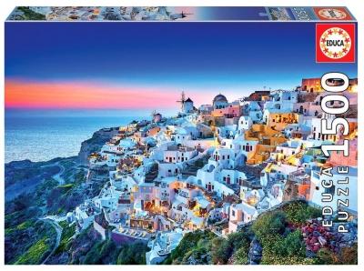 Puzzle 1500 Santorini/Grecja G3