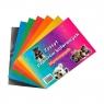 Zeszyt papierów kolorowych A4 - błyszczące