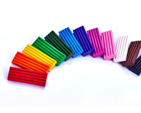 Plastelina Astra prostokątna, 12 kolorów (303117001)