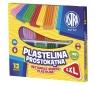 Plastelina Astra prostokątna 12 kolorów (303117001)