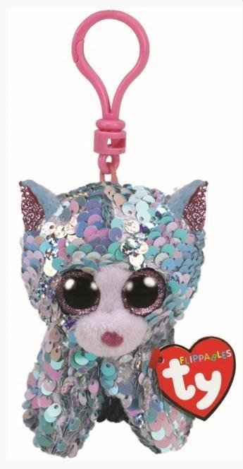 Beanie Boos Whimsy - Cekinowy Kot brelok