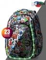 Coolpack - Strike S - Plecak Młodzieżowy  - Led Graffiti (A18201)