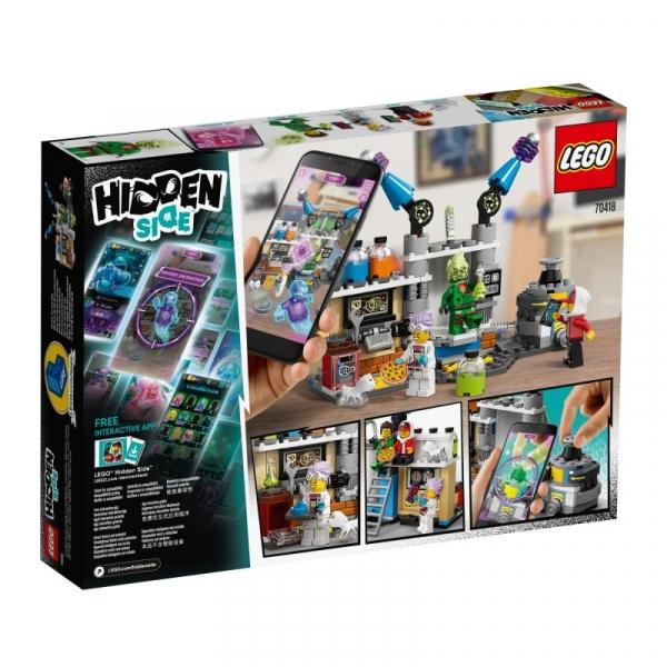 Lego Hidden Side: Laboratorium duchów J.B. (70418)
