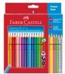 Kredki GRIP 2001 18 kolorów + 4 kolory neonowe + 2 ołówki (201540)