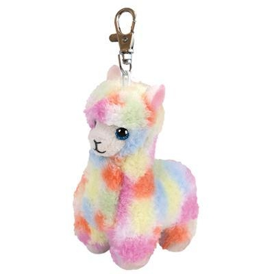 Beanie Boos: Lola - maskotka-brelok Kolorowa Lama, 8.5cm (36601)
