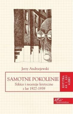 Samotne pokolenie Andrzejewski Jerzy
