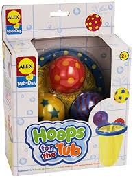Zabawka do kąpieli - obręcz do kosza ALEX