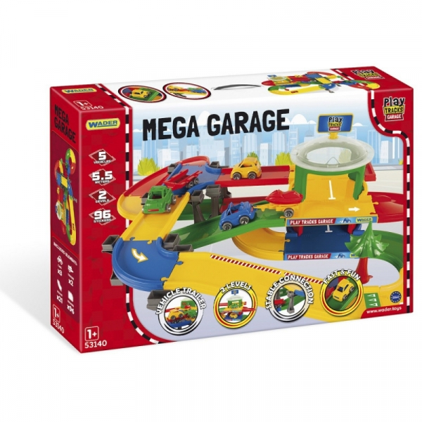 Wader Mega garaz z trasa (53140)