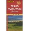 Beskid Makowski (średni), 1:50 000. Mapa turystyczna