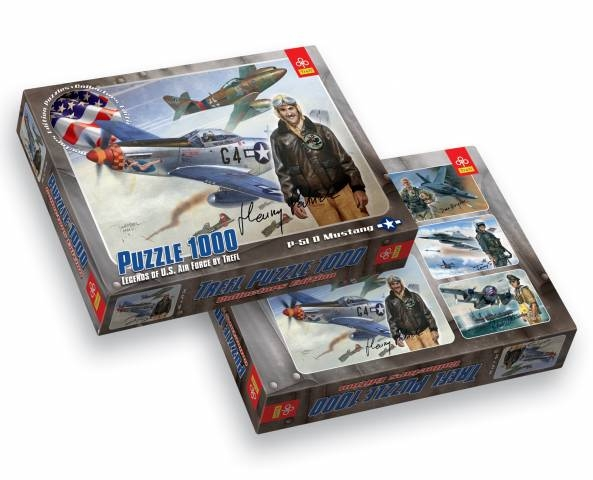Puzzle 1000 P-51 D Mustang TREFL (10240)