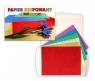 Papier metalizowany krepowany 6 kolorów C5