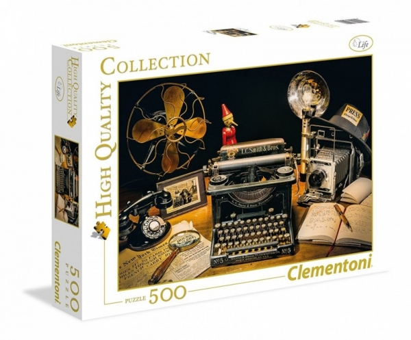 Puzzle 500 High Quality Collection The Typewriter (35040)