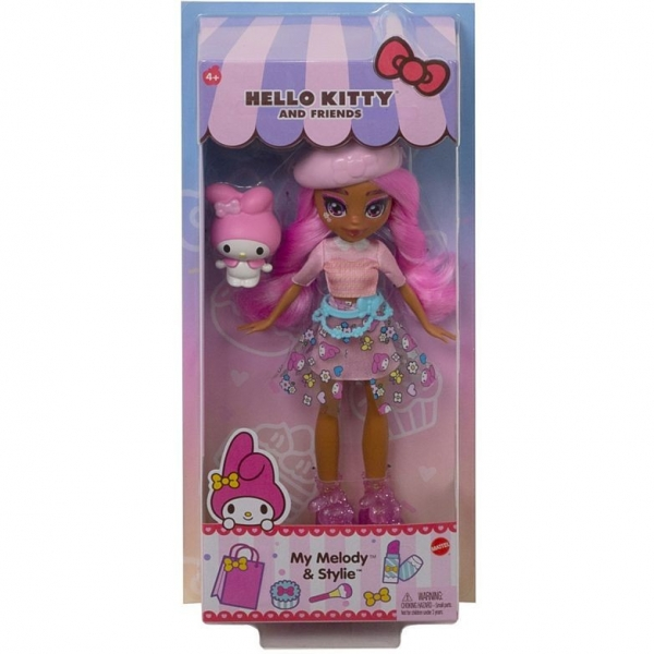 Lalka podstawowa  Hello Kitty My Melody i Stylie (GWW95/GWW97)