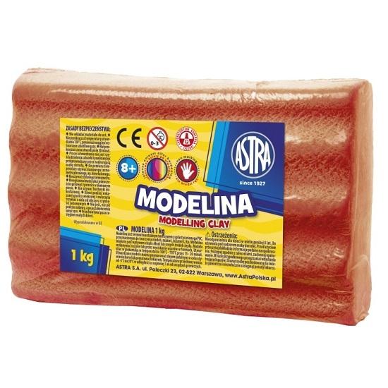 Modelina Astra, 1 kg - czerwona (304111009)